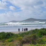 Fingal Bay wild weather on 15 July