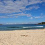 Fingal Bay calmer a week later