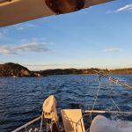 Views leaving Boat Beach