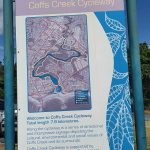 Coffs Creek Cycleway route