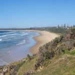 Murrays Beach stretching to Sawtell Beach