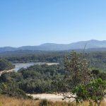 Looking west to Boambee Creek