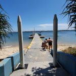 Public jetty in Iluka Bay