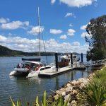 Back at Maclean pontoon