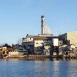 Sugar refinery in action