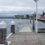 Dock for short-term use outside the Wharf