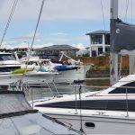 Our berth at Hope Harbour Marina.