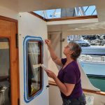I use the coving tool to smooth it off (I like the detailed work) and have intense focus!