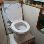 New freshwater loo in place