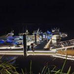 Super yachts at Sanctuary Cove