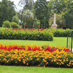 Botanic gardens in Queens Park