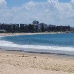 View towards the Mooloolaba Esplanade
