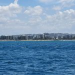 Distant view of Mooloolaba