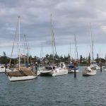 Pile berths near the harbour entrance
