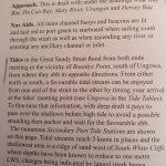 Info from Alan Lucas book, Cruising the Coral Coast