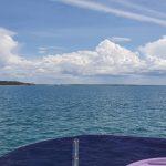 Going around Big Woody Island