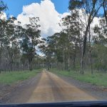 Driving to an area upstream of Burrum Heads