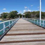 Urangan Pier looking back towards land.