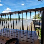 Fitzroy River from the cafe where we had lunch
