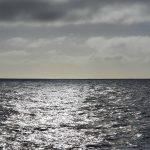 Ocean on starboard side