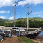 Grantees' yacht