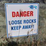 Obligatory warning sign