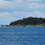 Farrier Island which has some cabins on it