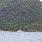 Boat on anchor at Shaw Island