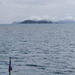 Esk Island with Border Island behind