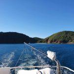 Leaving Hummocky Island