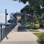 Walkway to Auckland House restaurant
