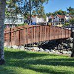 Small bridge over creek in Airlie Beach