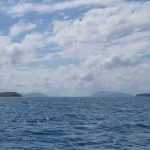 Brisk Island on the left, with glimpses of Palm Island group in the distance)