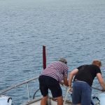 Releasing the mooring