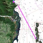 Route from Zoe Bay to Orpheus Island